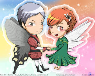 Akihiko and Minako in cosplay by himehisagi