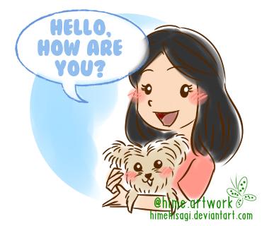 Bobby and I - Say hello by himehisagi