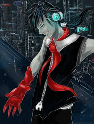 Night city guy
