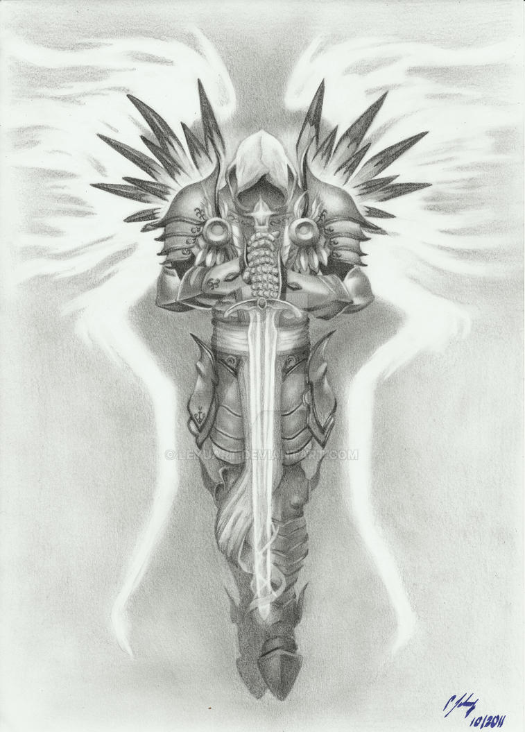 Tyrael By Grace Of God By Leyuart On Deviantart