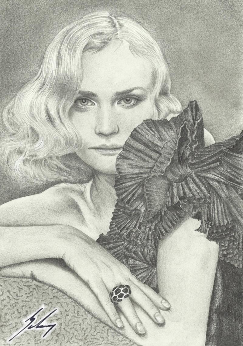 Diane Kruger  -Soul- by LeyuArt