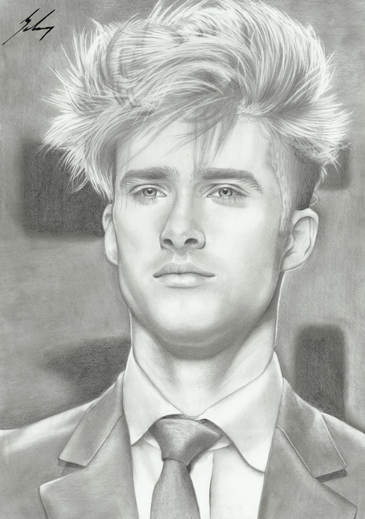 Ryan Taylor - Portrait by LeyuArt