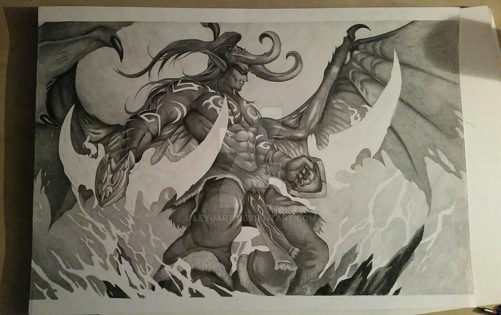 Illidan WIP 3 by LeyuArt