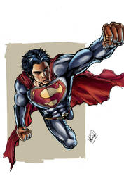 Superman by mattcrossley