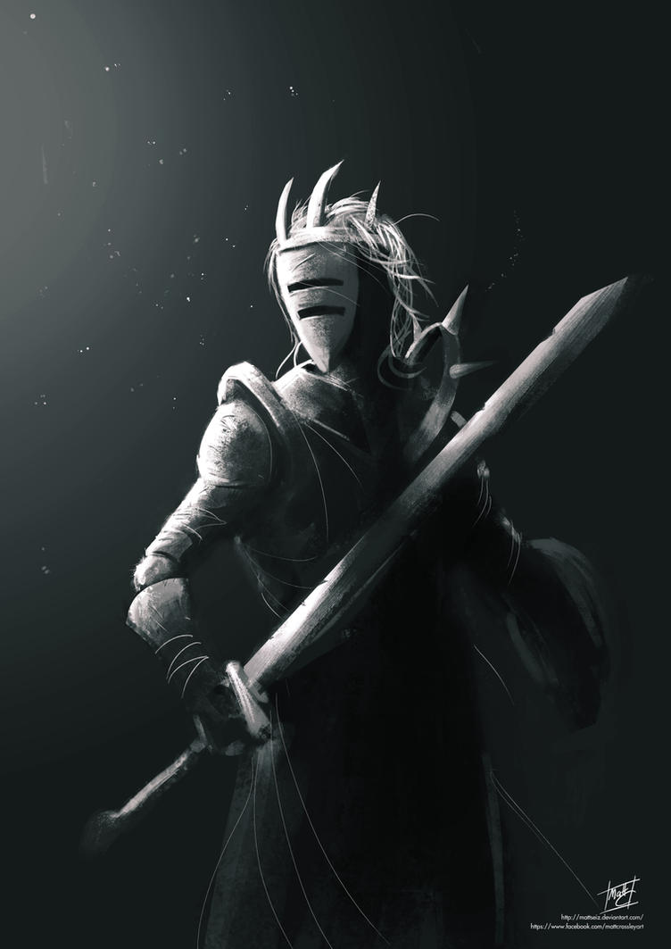 Darkness Knight by mattcrossley