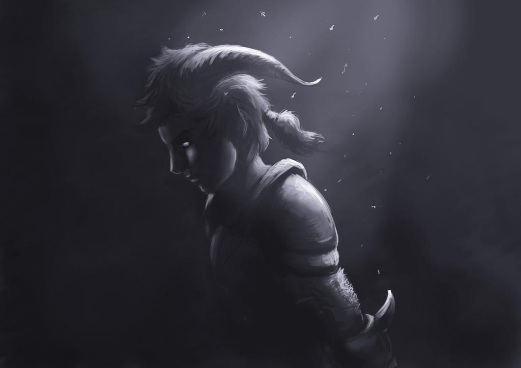Satyr Dark to Light by mattcrossley