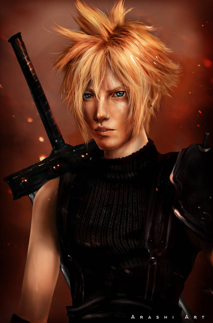 Cloud Strife: Final Fantasy VII - Part II by Arashi-96