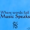 Music Speaks by XxSafetyPinsxX