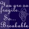 Icon - So Fragile by XxSafetyPinsxX
