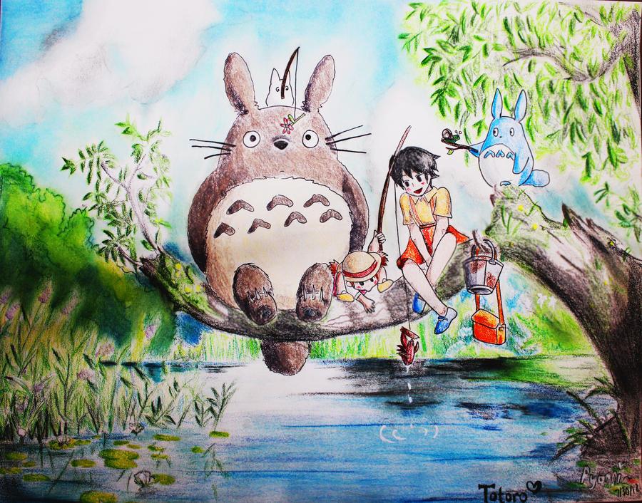 Totoro by Pyonni