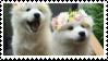 f2u flower crown dogs stamp by NashobaPaws