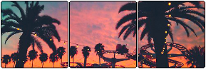 f2u palm trees divider