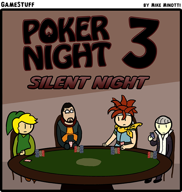 Poker Night 3: Silent Night by Tolkoto on DeviantArt
