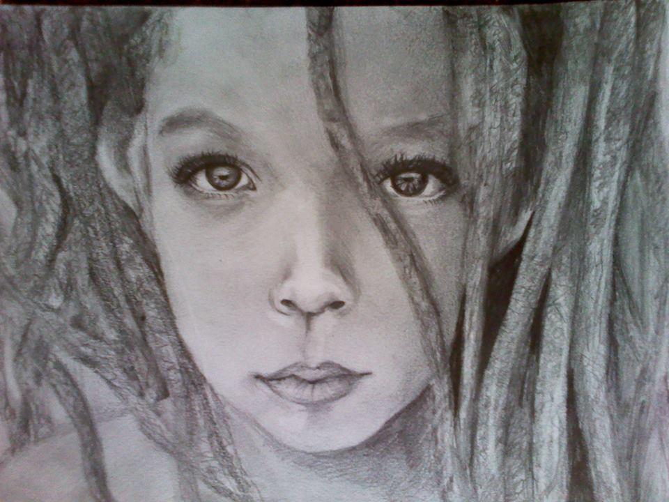 Little girl by Portaluna