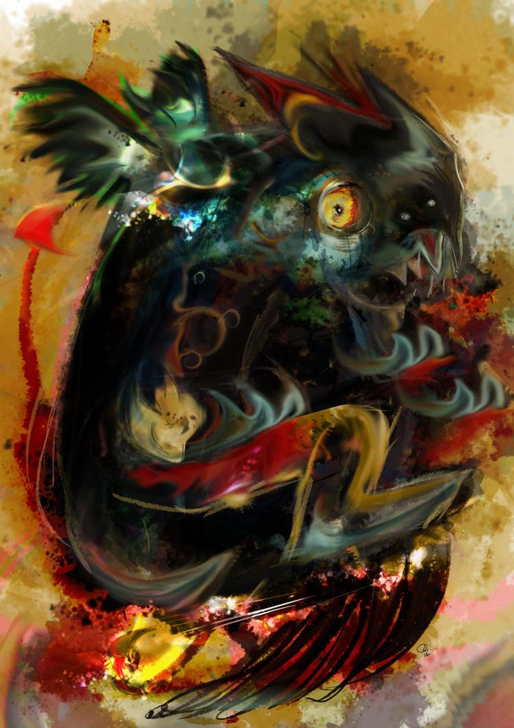 Gargoyle by robinweatherall