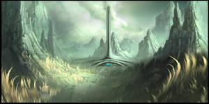 Sci-Fi environment by RobertDBrown