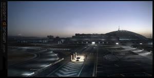 Sci-Fi testing facility. by RobertDBrown