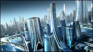 Future City Too by RobertDBrown
