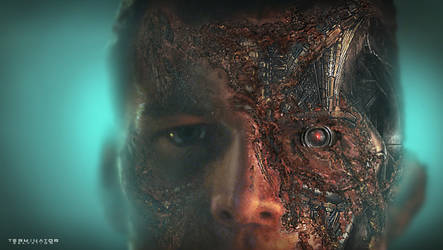 Marcus Terminator  Concept Art by RobertDBrown