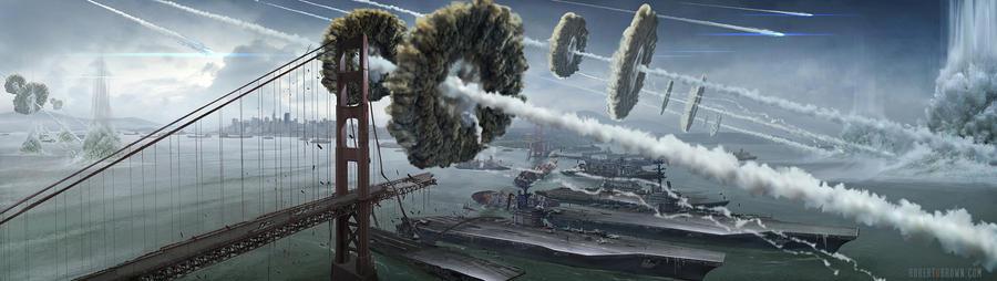 Battle SF by RobertDBrown