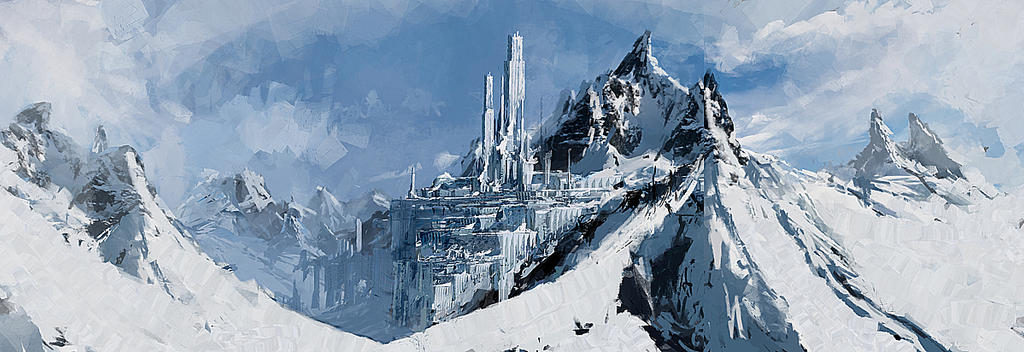 [Lieu] Tonarrion , Mythique Cité de Glace [Wip] Snow_fort_by_robertdbrown-d7p3mez