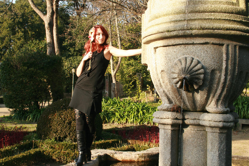 just me at cristal palace park by Angiepureheart