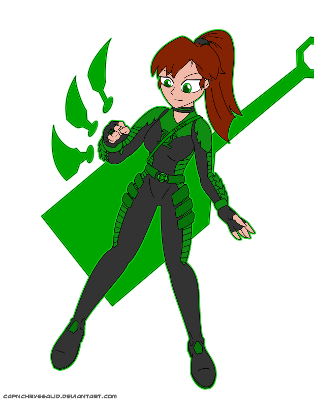 Ukyou Kuonji: Green Lantern by CapnChryssalid