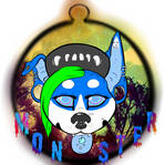Monster Tag Badge