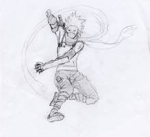 ANBU Kakashi II by Renkashi