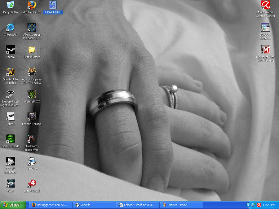 My Desktop by HerTiggerness