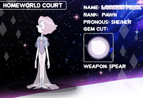 (Lilac Diamond 's Court) Lavander Pearl by FlareViper