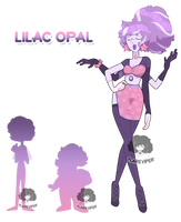 (CLOSED) Fusion Adoptable - Lilac Opal by FlareViper