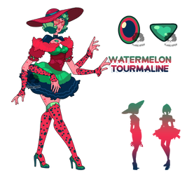 (Fusion) - Watermelon Tourmaline 2.0