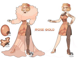 (Fusion) - Rose Gold by FlareViper