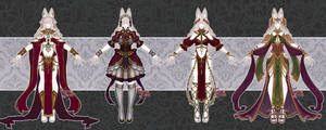 ( SOLD ) FANTASY OUTFIT ADOPTABLE - #14 - 0/4