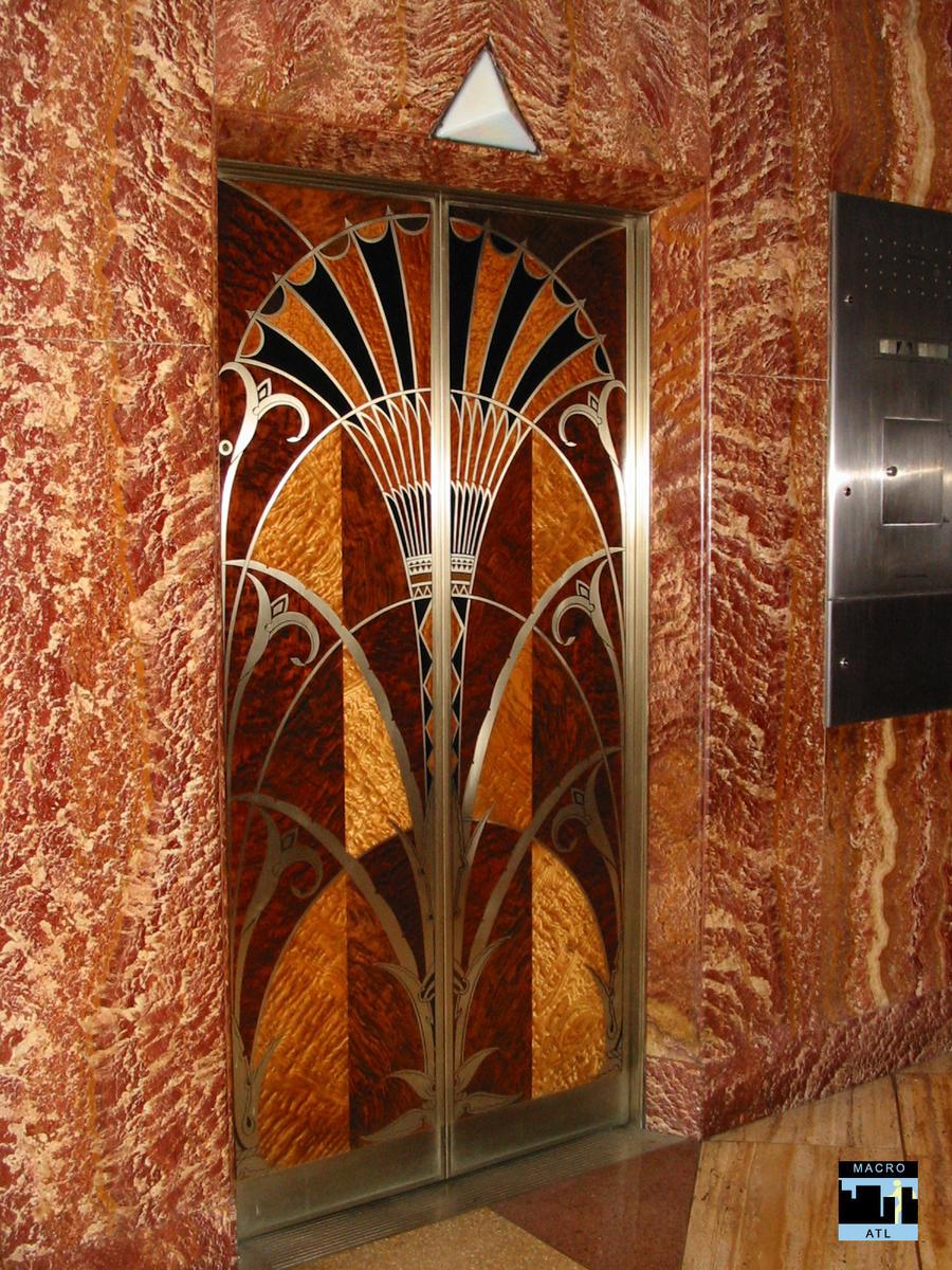 Deco Elevator Doors by MacroATL
