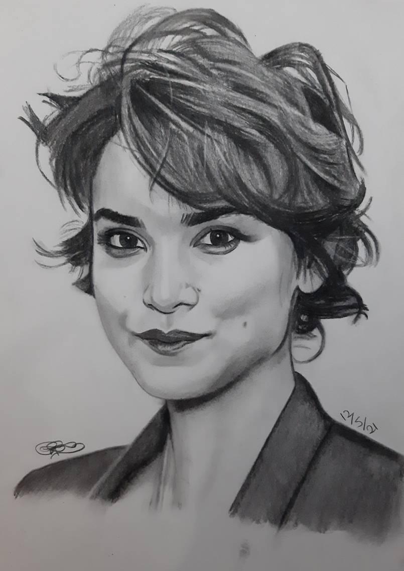 Amber Rose Revah Sketch/Drawing