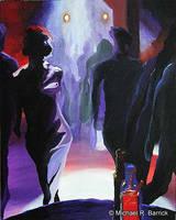 Club No. 2 'Blue Dancer' by Atratus