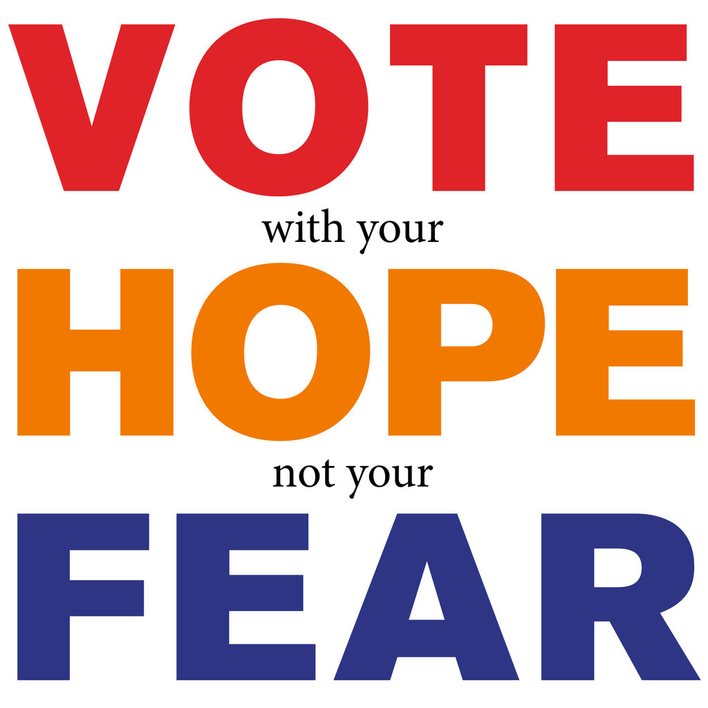 Vote Hope Fear