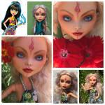 OOAK custom doll Kamenetskaya 12