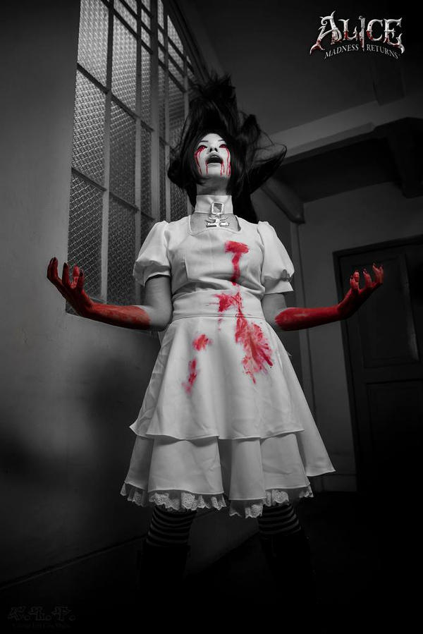 Alice - Alice Madness Returns (hysteria mode) 2 by kiripipapillon