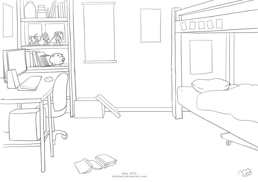 Teenage twin boy's room by jatblack on DeviantArt