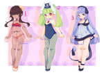 [CLOSED] Monster girl Adoptables | Set price