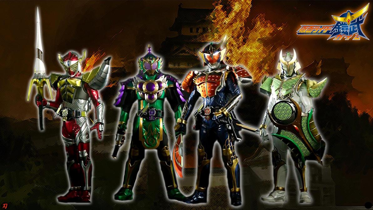 Kamen Rider Gaim Logo Kamen Rider Gaim Baron Ryugen