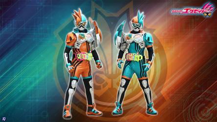 Kamen Rider Ex-aid - Mighty Brothers XX