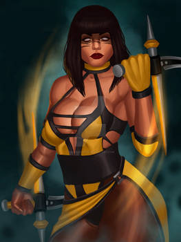 Mortal Kombat Tanya