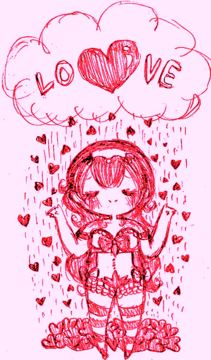 Showered With Love by Ask-MusicPrincess3rd