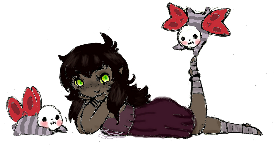 Commission 2: Jeepers Creepers,I love your peepers by Ask-MusicPrincess3rd