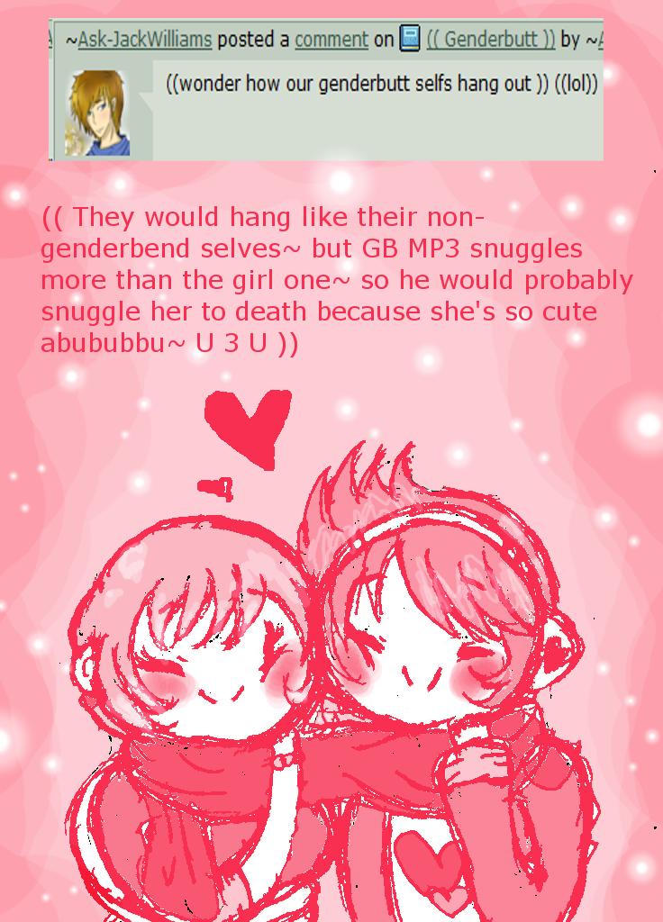 Genderbutt Question 2: Hang? by Ask-MusicPrincess3rd