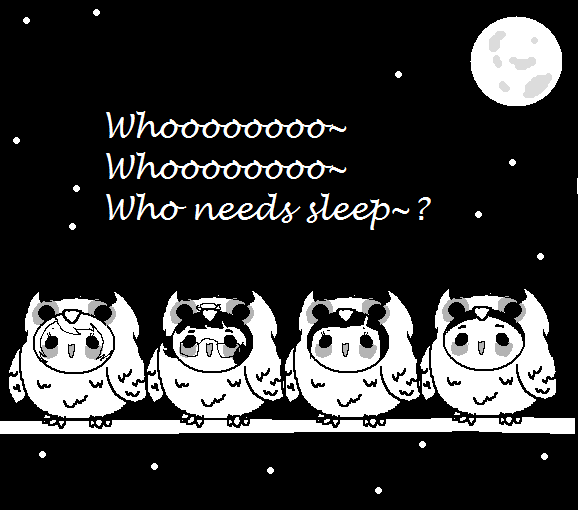 Da Night Owls by Ask-MusicPrincess3rd